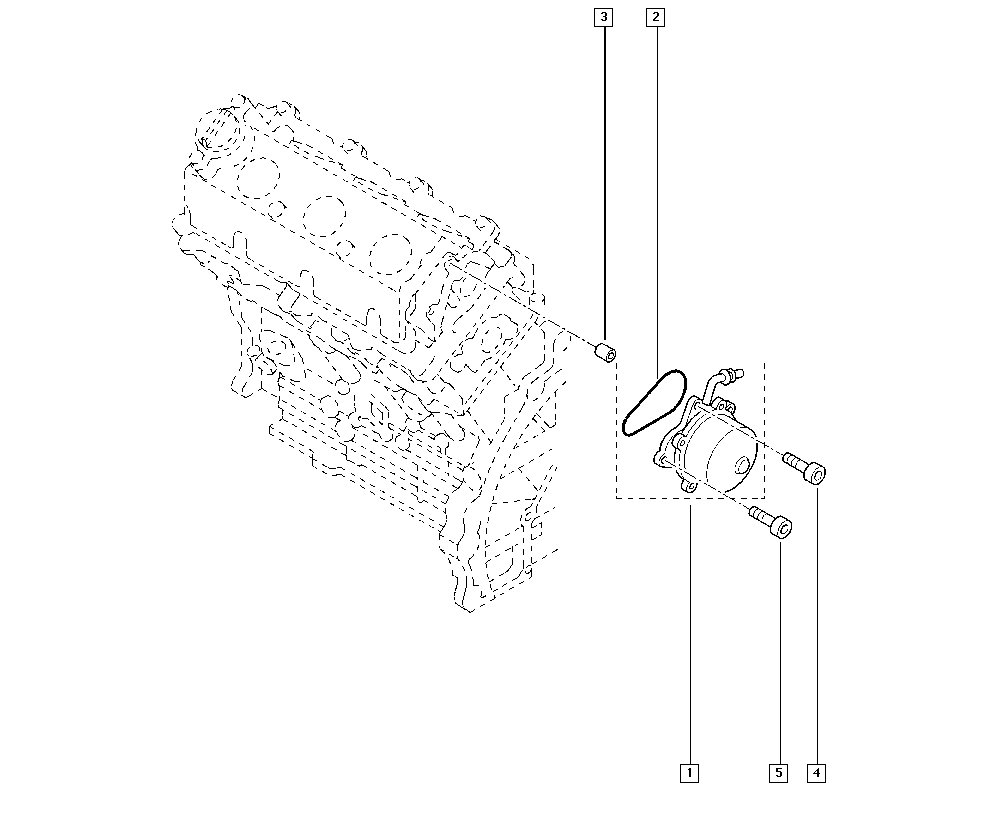 Espace IV, JK0J, Manual, 13 Fuel supply / Mechanical brake