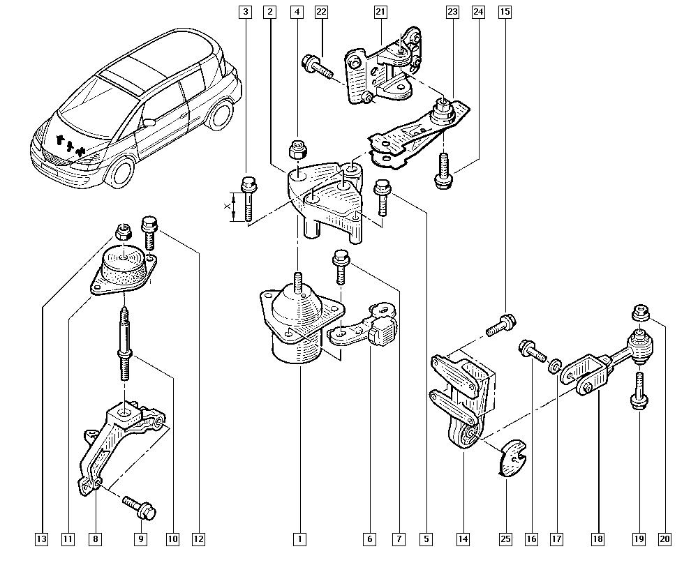 Espace III Avantime, DE0T, Manual, 19 Cooling system