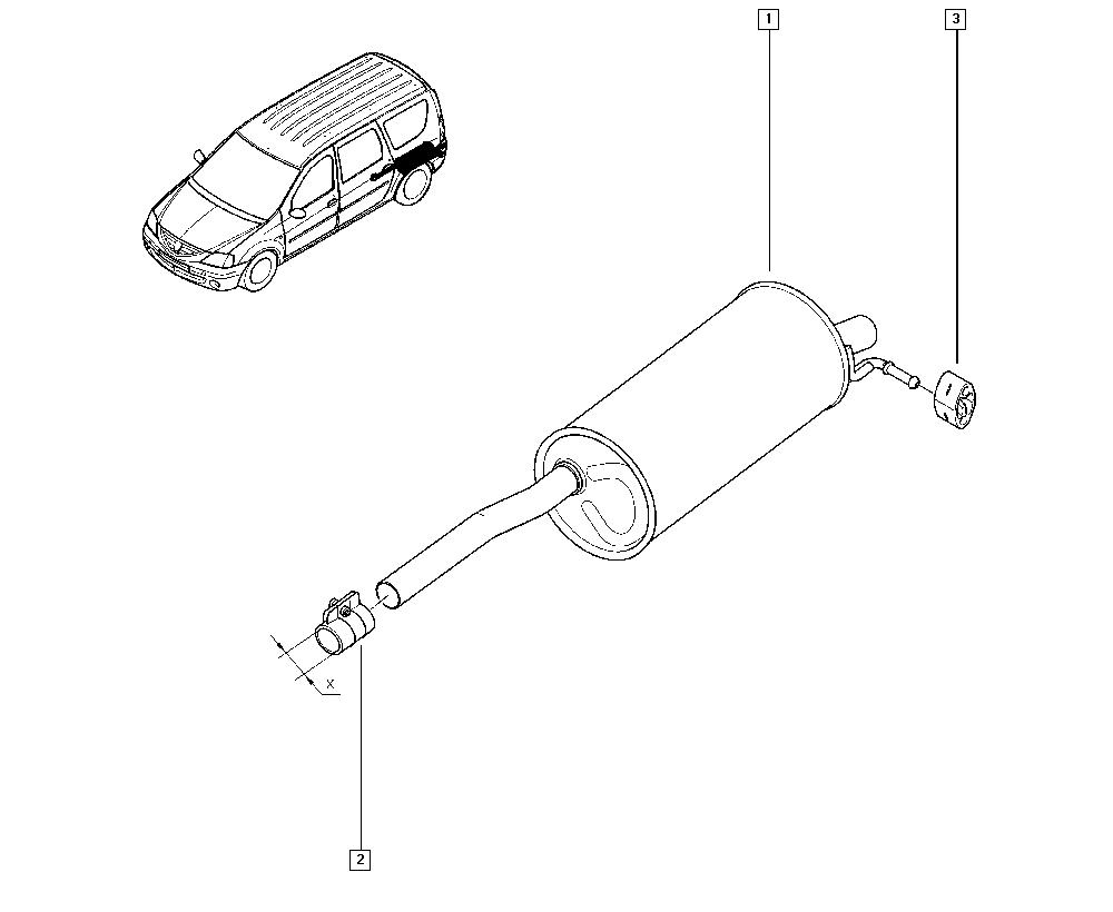 Manual Renault Logan 2008