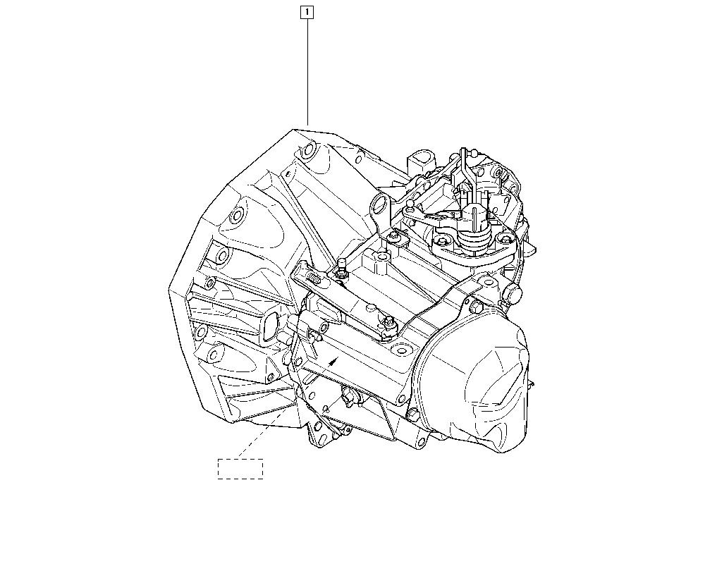 Duster, HSA8, Manual, 21 Manual gearbox / Manual gearbox