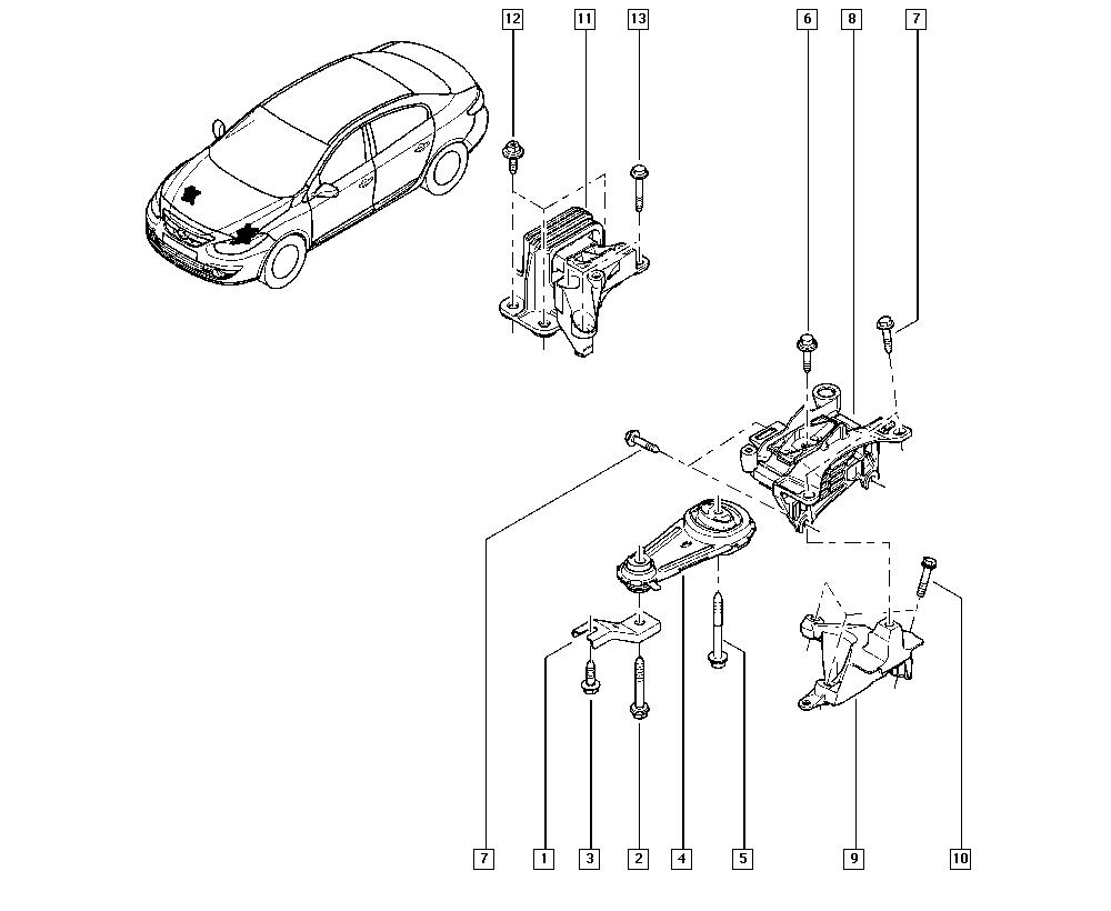 Fluence-Mégane Generation, L30H, Manual, 19 Cooling system
