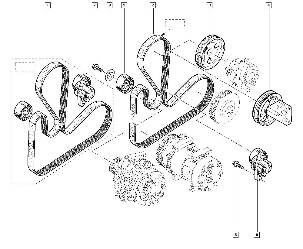 Kangoo, KC1N, Manual, 15 Accessory mounting support