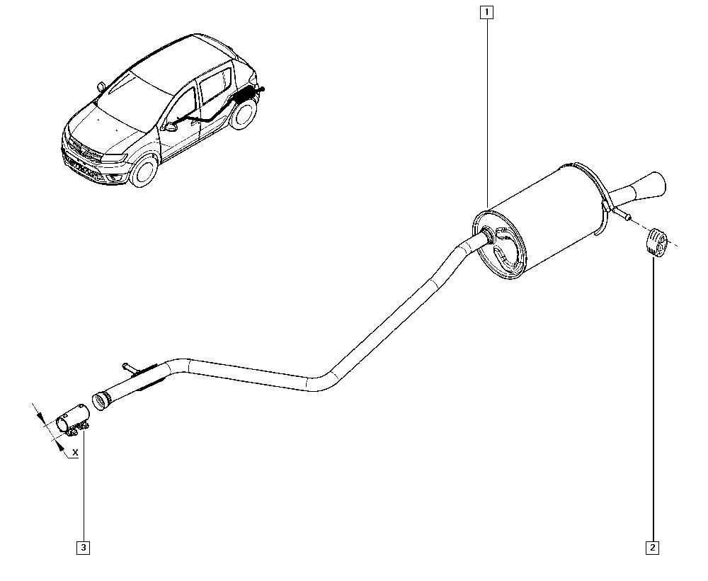Logan Sandero II, B8J8, Manual, 19 Cooling system