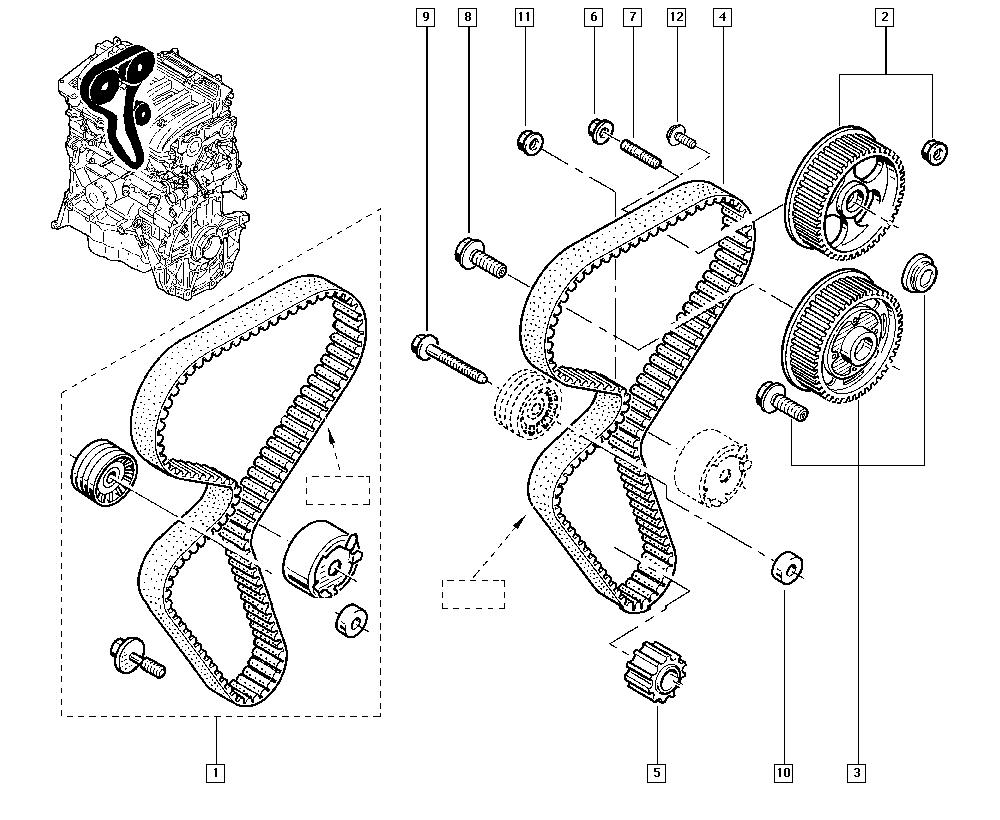 Fluence-Mégane Generation, L30P, Manual, 11 Upper engine