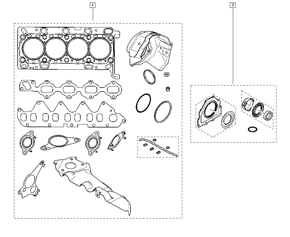 Scénic III, JZ00, Manual, 10 Engine / Engine seals