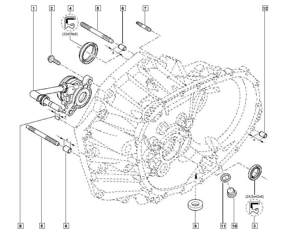 Talisman XFD, KPNC, Manual, 21 Manual gearbox / Gearbox