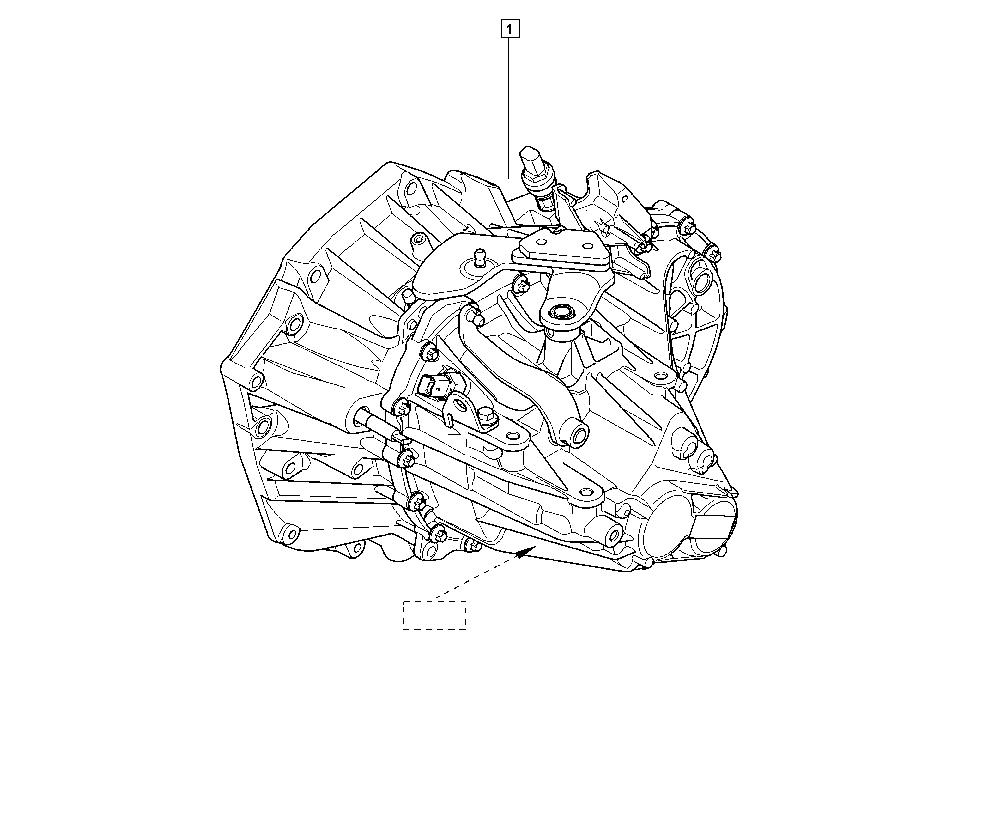 Mégane IV, B9MS, Manual, 21 Manual gearbox / Manual