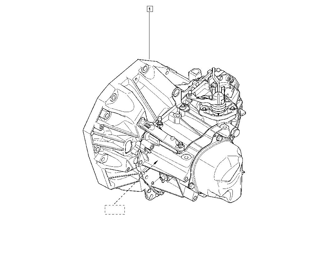 Fluence-Mégane Generation, L30P, Manual, 21 Manual gearbox