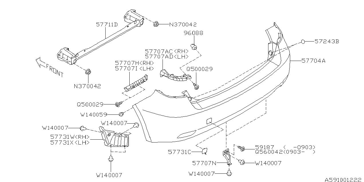 Europe (LHD), IMPREZA(GE,GH) G12, B, Body, 591/01(W.(15R