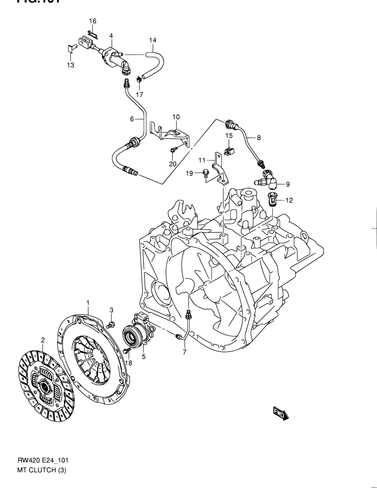 hight resolution of europe sx4 rw416 2 transmission 101 mt clutch 6mt lhd caterpillar clutch diagram suzuki sx4 clutch diagram