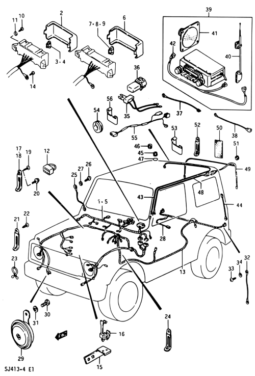 small resolution of 87 samurai wiring harness wiring diagram toolbox wiring diagram for suzuki samurai 87 samurai wiring harness