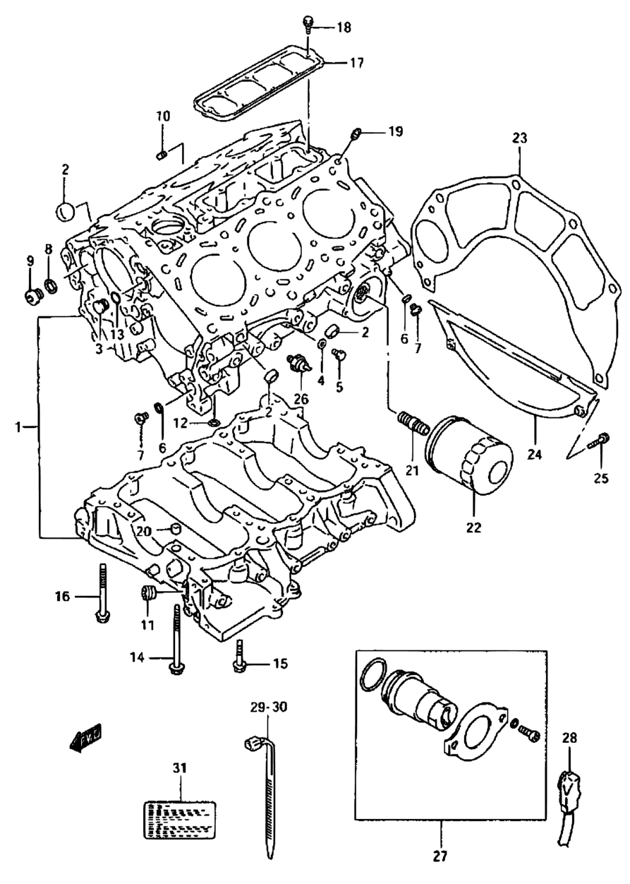 2003 Suzuki Grand Vitara Engine Diagram