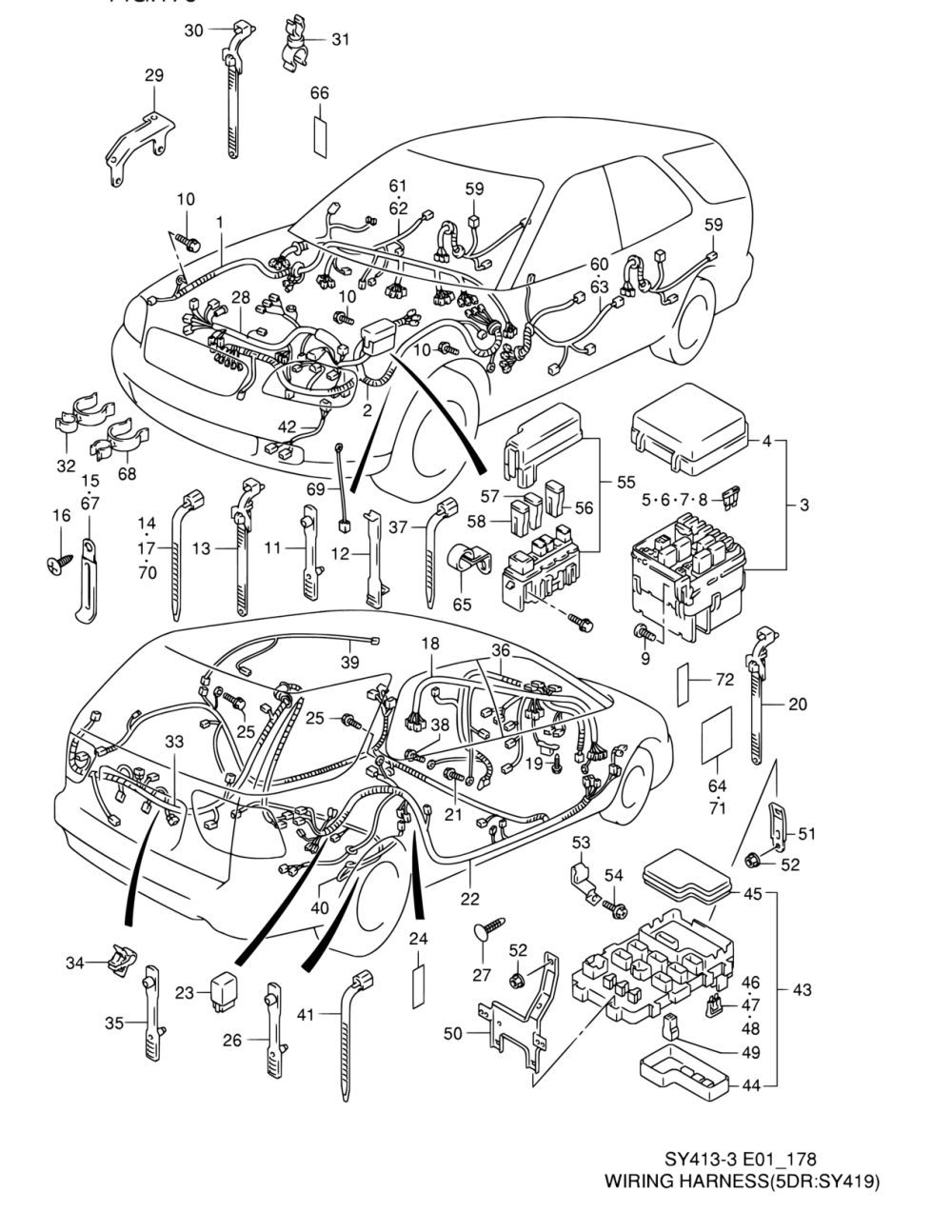medium resolution of all regions baleno esteem sy419 4 electrical 178 wiring parts suzuki samurai wiring diagrams