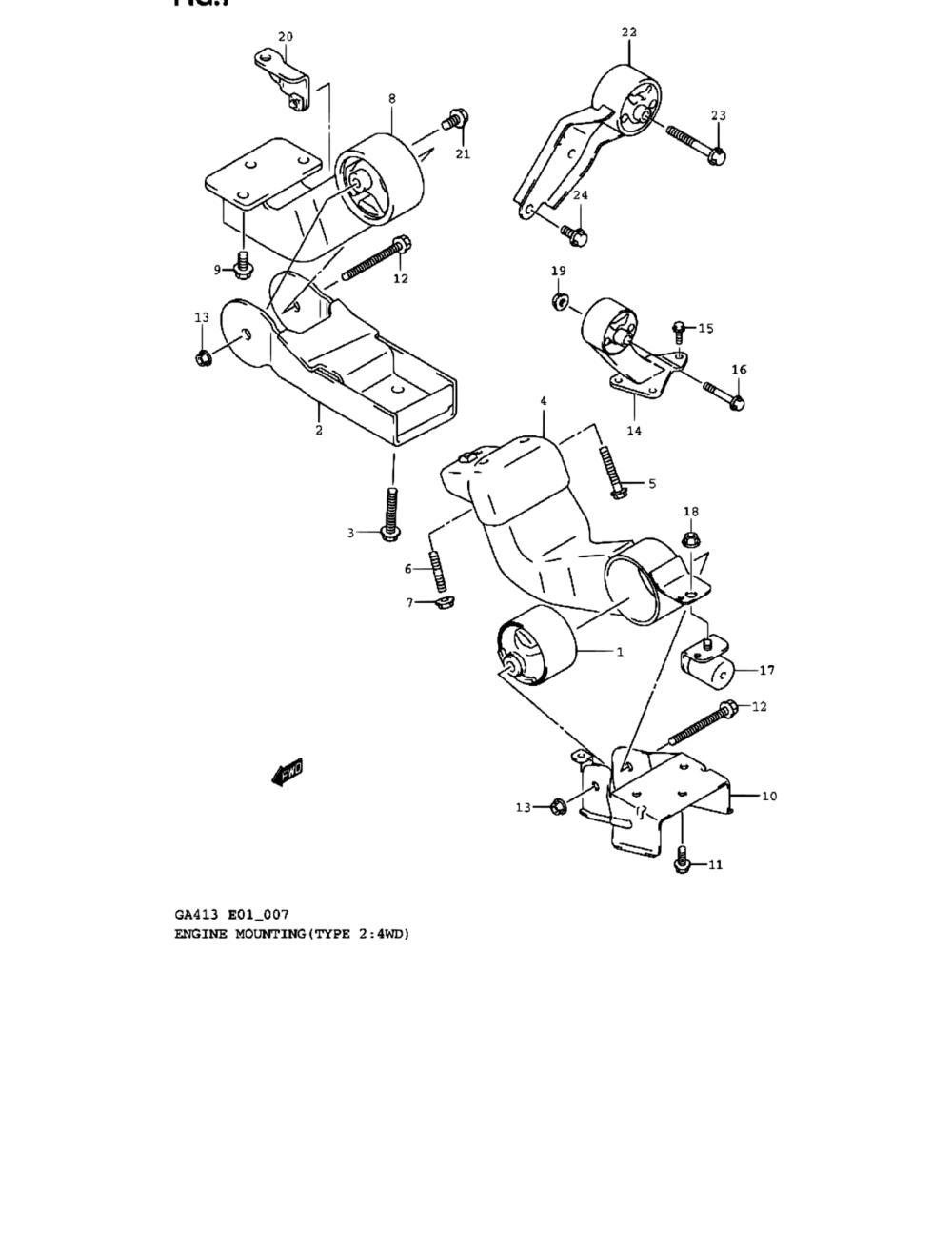 medium resolution of europe carry supercarry every ga413 4 engine 7 engine suzuki 2 7 engine diagram