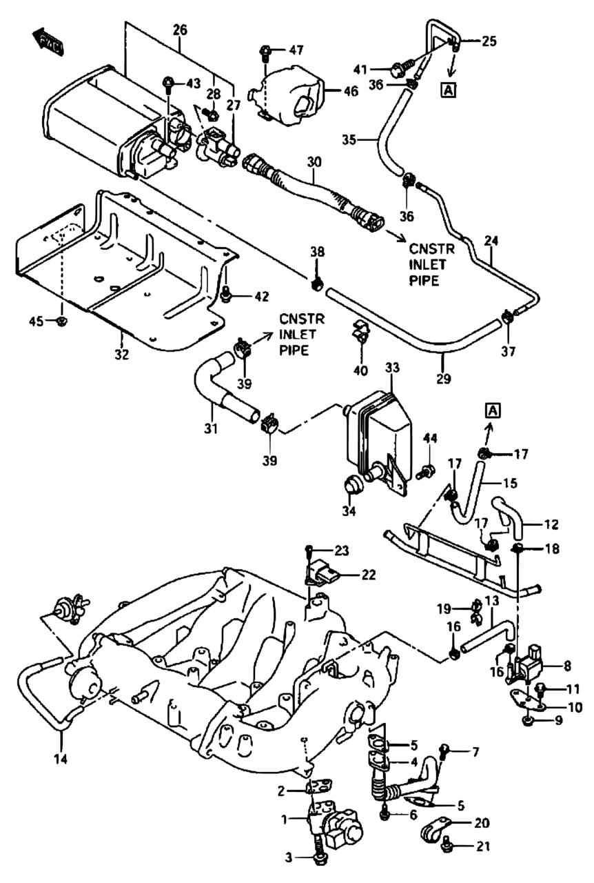 hight resolution of 2003 xl7 egr valve location and diagram suzuki forums suzuki forum 2003 xl7 egr valve location and diagram suzuki forums suzuki forum