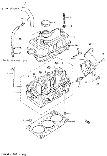 Maruti 800 Engine Diagram / Maruti 800 Engine Diagram Pdf