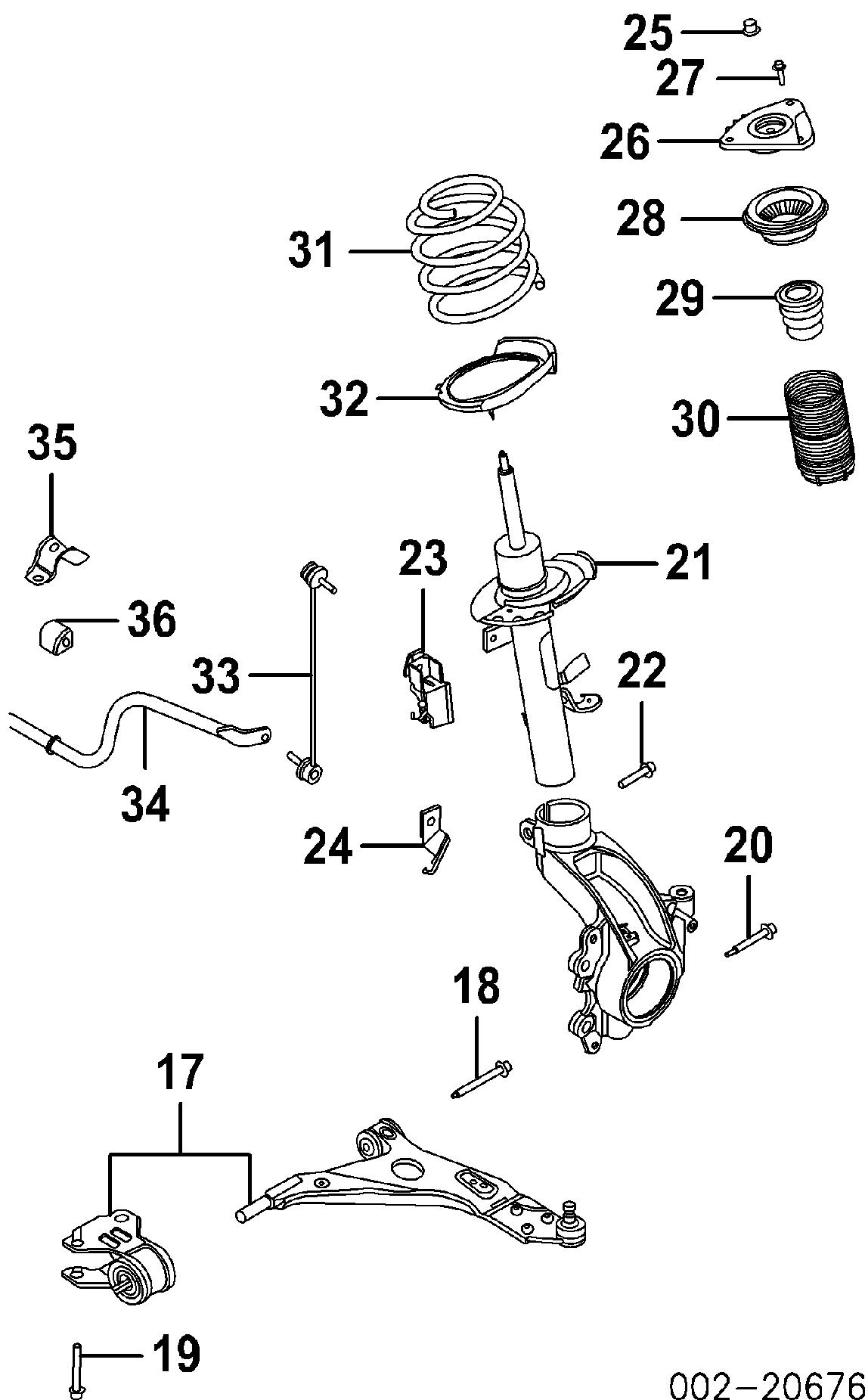 Ford Escape Se Front Suspension