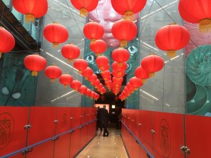 WINNER Red Lanterns in the Liverpool Museum by Elli Moscrop
