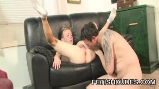Hans Blan And Derrick Paul - Fetish Daddy Worshipping A ky Ass