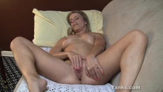 Small Titted Skyle Fingering Her Pussy