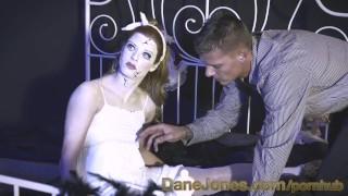 DaneJones Creepy haunted redhead doll craves flesh inside her