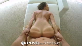 POVD - Super hot Lily Love hot is fucked in POV