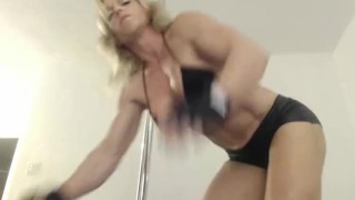 FBB MuscleGoddess at JockGirlsLive
