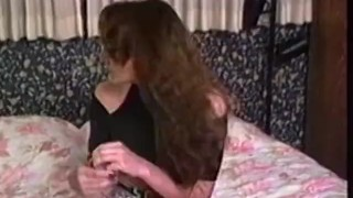 Retro firsttime lesbians pussyeating and pegging
