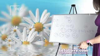 Lelu Love-May 2016 Cum Schedule