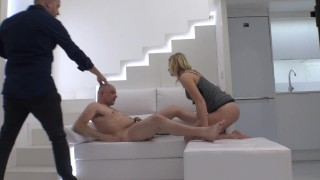 Hidden camera on sex photo session with ukrainian Aria Logan.Part 1