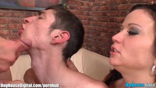 Described Video - Bisexual Threesome Cumshot Compilation