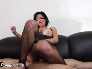 WANKZ – Horny MILF Boss Gets Fisted In Her Office!