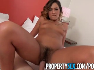 PropertySex – Beautiful agent fucks home owner for agree to sell signature