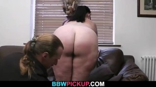 He picks up busty hottie and bangs her fat pussy