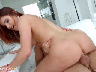 Evelina Darling gets gonzo hardcore creampie action on All Internal