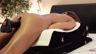 AMATEUR WIFE - BUTT PLUG - 4 DILDOS - 4 GUSHING ORGASMS CAMERA RUNNING