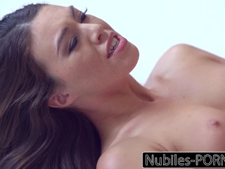 Nubiles-Sex videos Erotic Brunettes Intense Orgasm