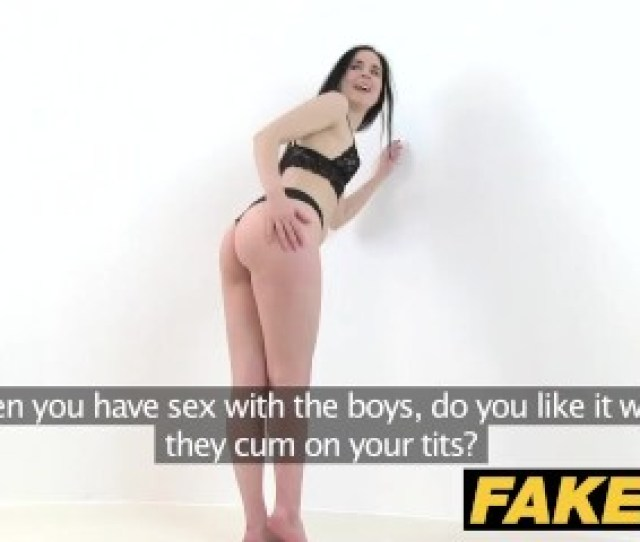 Fake Agent Hot Skinny Lingerie Model Fucked On Photoshoot