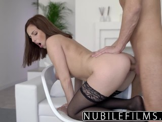 NubileFilms – Large Tit Step Sis Craves My Dick