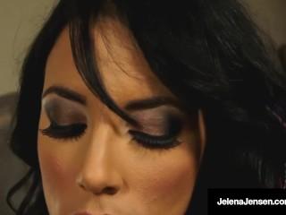Penthouse Pet Jelena Jensen Dildo Bangs Her Wet Steamy Cunt!
