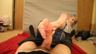 BriannaLyn BJ/HJ/Footjob with COLLEGESOLES
