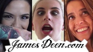 GIRLS TURNED INTO OBEDIENT CUM DUMPSTERS - R&R03