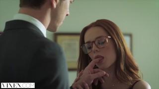 VIXEN Ella Hughes Begs Fucked Be Tied Up and Dominated