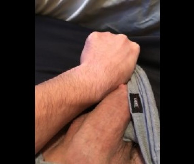 Big Fat White Cock Bulge In Underwear Growing And Throbbing