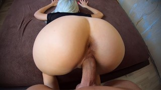 Big Dick Fuck Me porno DoggyStyle! Sperm Flows Down My Back!