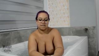 Tease in a Hot tub
