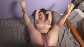NaughtyNatural - Hairy Armpits, Pussy, Lesbian Sex, Close Ups