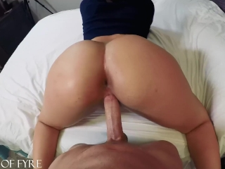 Thick Teen Ass Bouncing On My Cock Valentina Jewels