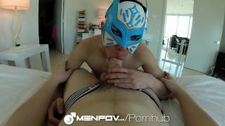 MenPOV Freaky POV masked tight ass fucking