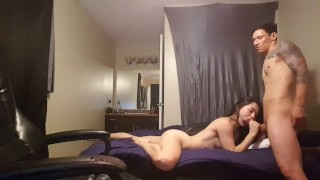 Doggy style with sexy asian !